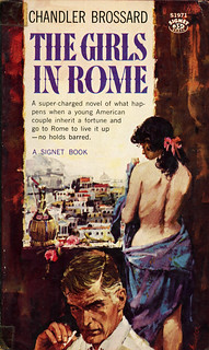 Signet Books S1971 - Chandler Brossard - The Girls in Rome