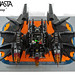 The Batwing - Rear by Brickmasta