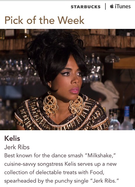 Starbucks iTunes Pick of the Week - Kelis - Jerk Ribs