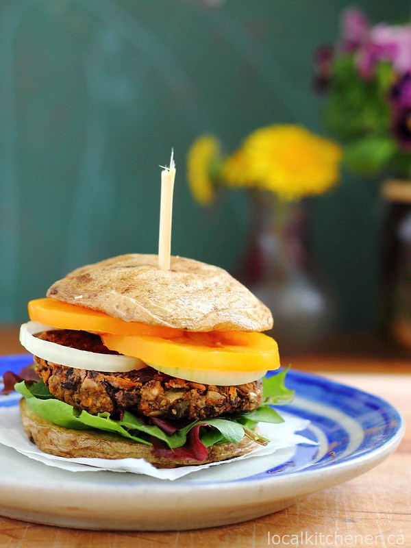 Potato as a Burger Bun - FBC Weekly News | Food Bloggers of Canada