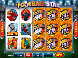 Football Star Slot Machine