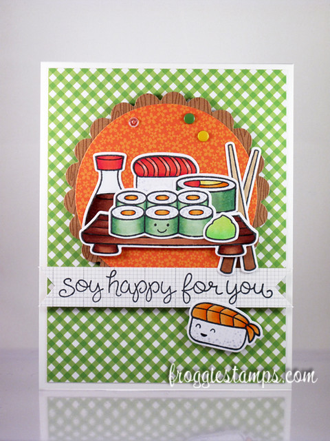 Copic Soy Happy For You Sushi 1