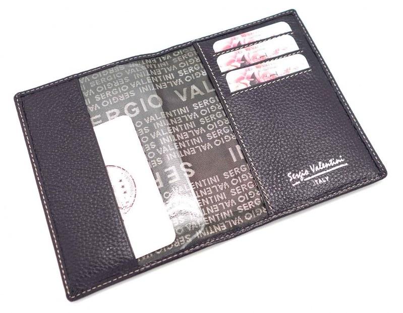Женская кожаная обложка для паспорта, коллекция СВ 3187