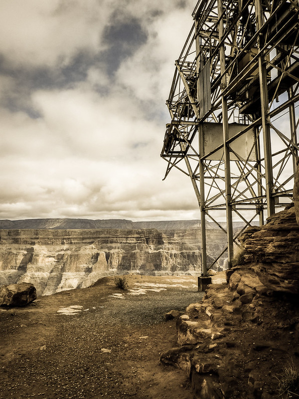 Mining, Grand Canyon, USA