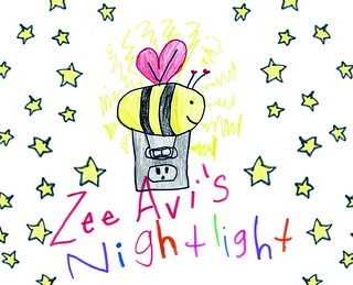 Zee Avi's Nightlight album cover