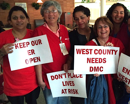 Sign the petition to save Doctors Medical Center in San Pablo