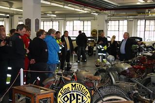Besuch der Opel-Klassik-Werkstatt