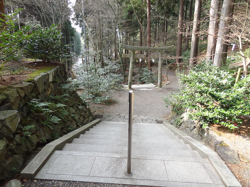 猿丸神社 裏参道(1)
