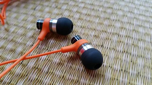 หูฟัง Yuppie Orange