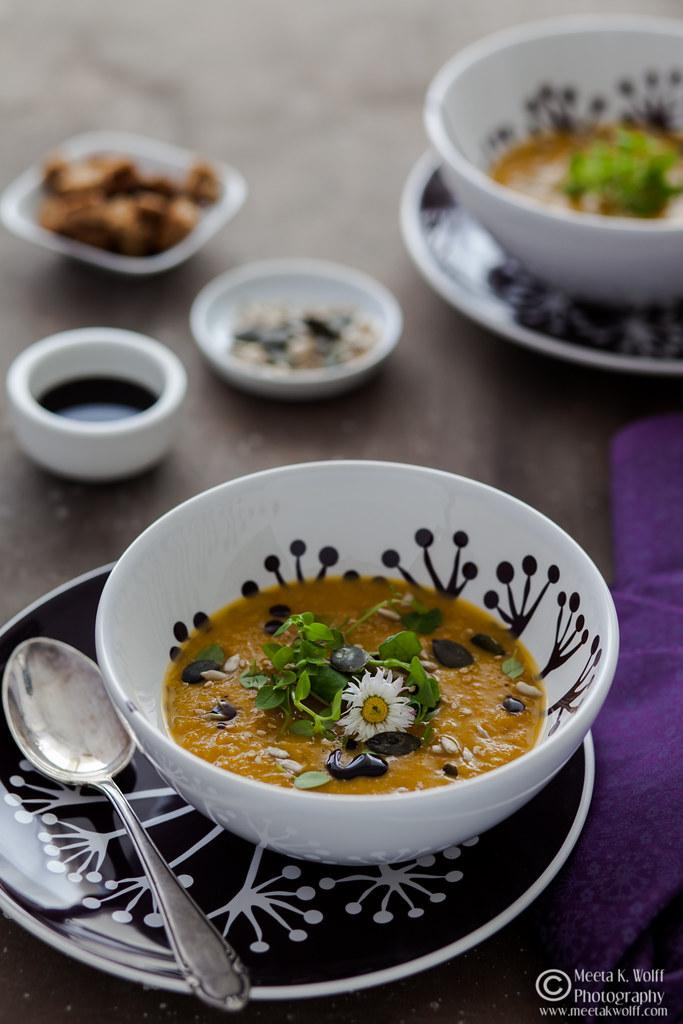 Pumpkin Persimmon Soup (0029)