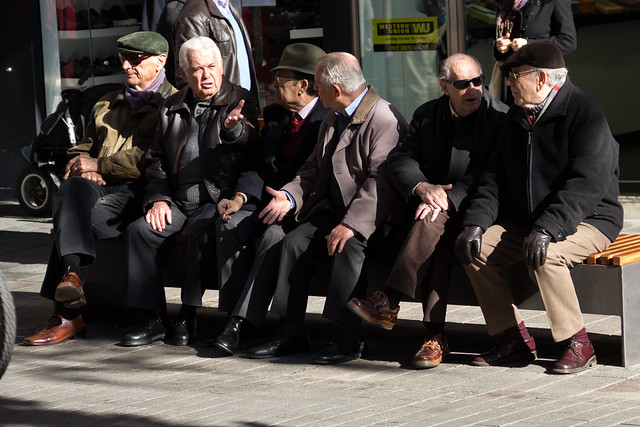 Old Men Waiting
