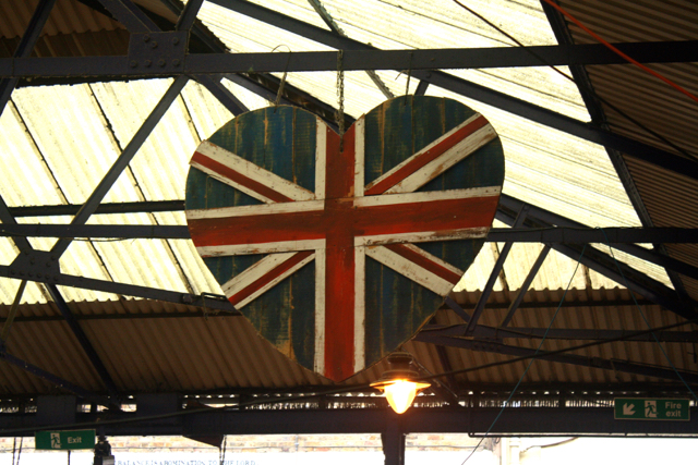 British pride at the Greenwich Market, Greenwich