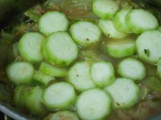 014 胜瓜、黄芽白汤