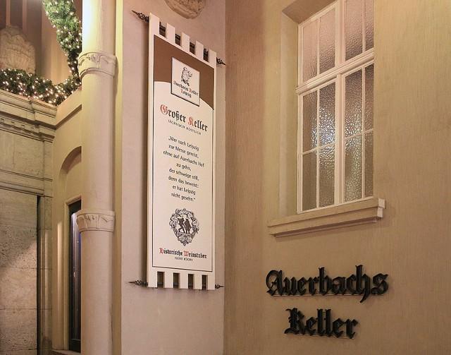 Auerbachs Keller, Maedler-Passage, Leipzig, Germany, fotoeins.com