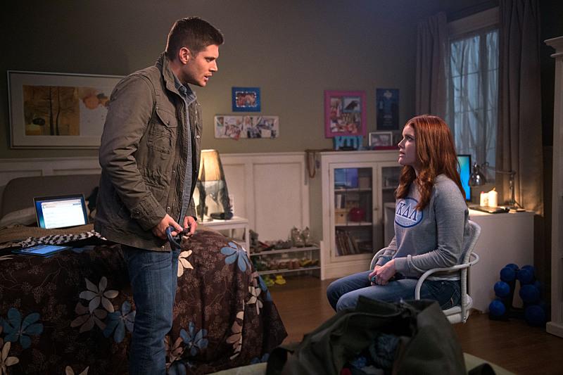 Recap/review of Supernatural 10x13 'Halt and Catch Fire' by freshfromthe.com