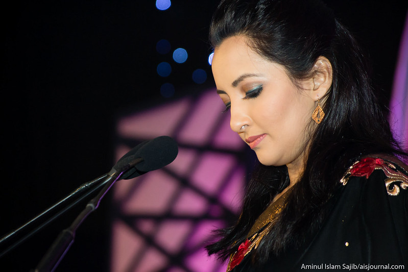 Popular presenter Munmun at Digital World 2015 Closing Ceremony