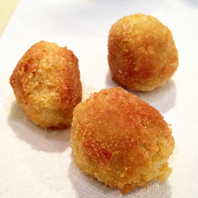 Testing out some #vegan Arancini www.good-good-things.com
