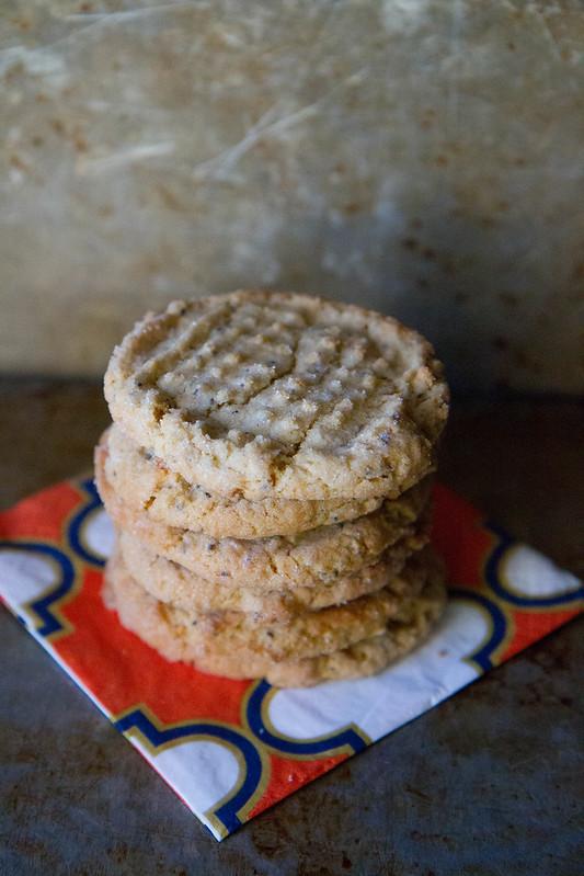 Gluten Free Vegan Peanut Butter Cookies