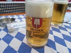 Spaten Beer for the Oktoberfest at MGM Macau 2014
