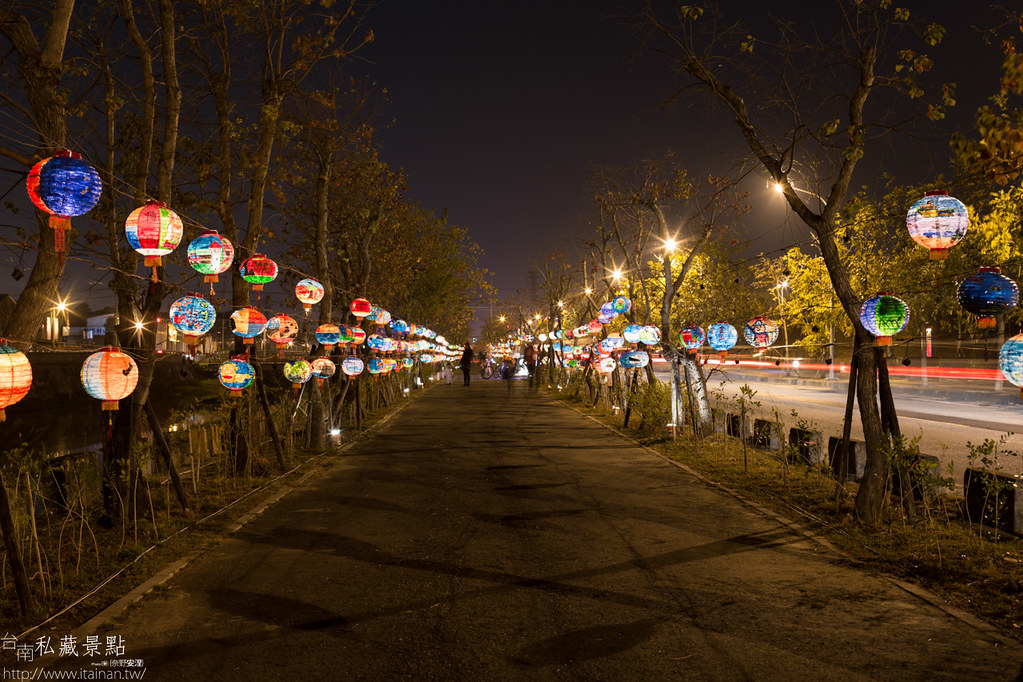 台南私藏景點-點亮台江 2015 山海圳綠道燈會 (5)