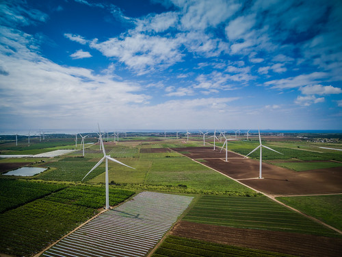 mountain windmill energy power wind alternativeenergy generator electricity inspire development resource windturbine windpower mountainrange renewableenergy drone environmentalconservation dji fuelandpowergeneration santaisabelpuertorico