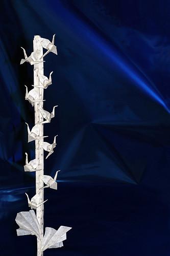 Origami Le Rameau de la Paix (Claudine Pisasale)
