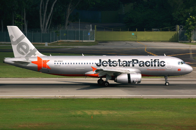 Jetstar Pacific | Airbus A320-200 | VN-A562 | Singapore Changi