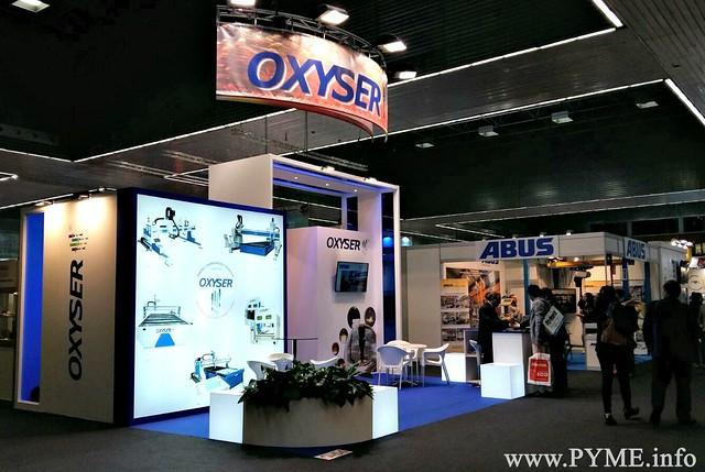 Stand de Oxyser en la 29ª BIEMH de Bilbao, situado en el Pabellón 3 del Bilbao Exhibition Centre.