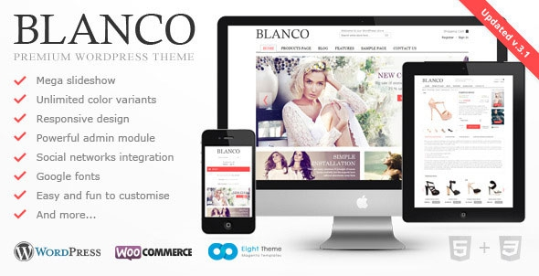 Blanco v3.5 - Responsive WordPress Woo/E-Commerce Theme