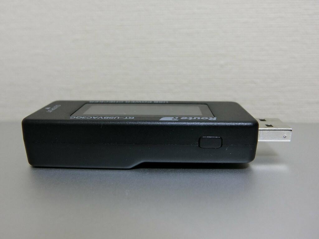 USB簡易電圧・電流チェッカー