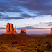 sunset at Monument Valley Tribal Park, Utah - off for two weeks! by birdsongPics/BACKinSEPTEMBER