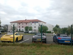 Secure parking at Le Mans Novotel