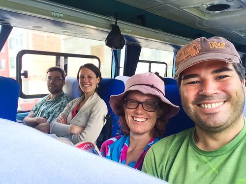 Bus de Riobamaba à Cuenca