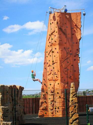 ireland irish sport wall fence outdoor kerry abseiling climbingwall hff inexplore canonixus170 traleebaywetlandcentre