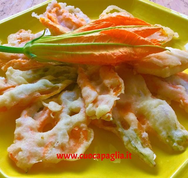 tempura di fiori di zucca 5