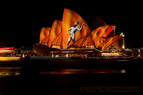 , Opera House Aboriginal Vivid Sydney 2016 By Kaye Menner, Family Blog 2020, Family Blog 2020
