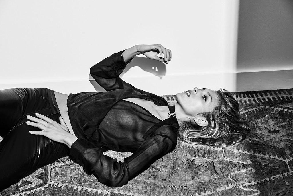 Аня Рубик — Фотосессия для «The Edit» 2016 – 2