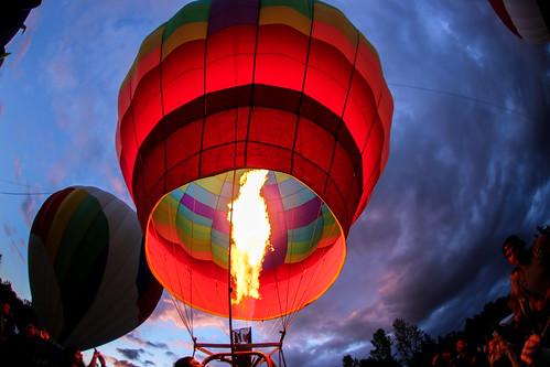 hot color night oregon canon dark hotair balloon