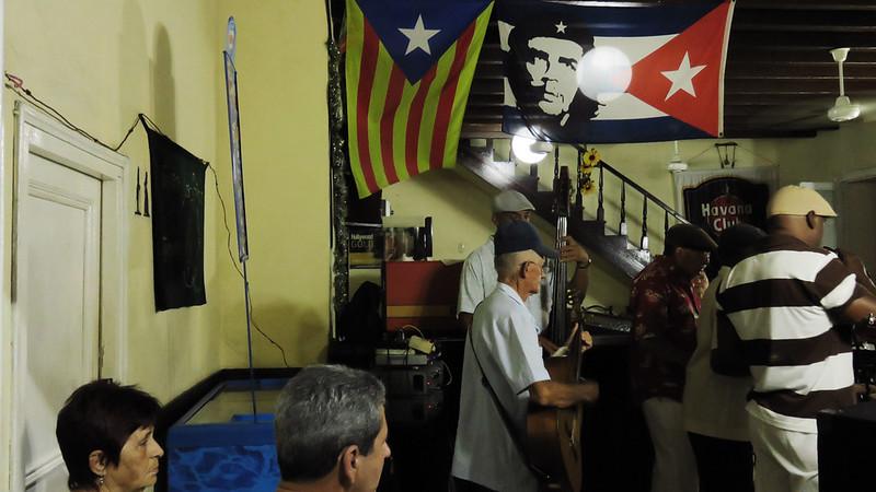 Small local bar in Cuba