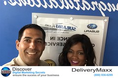 """Today Jason came by and shared a few things about DeliveryMaxx I wasn't aware of as in how the salesman can add a picture and bio of themselves and how uploading walk around videos are done."" - Tamala"