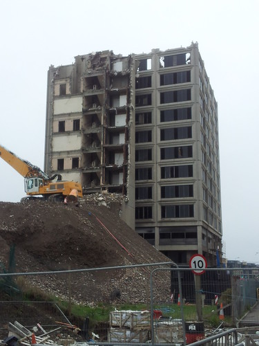 Tayside House demolition