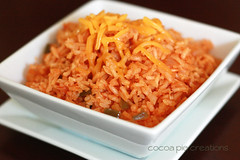 carrot, vegetable, rice, spanish rice, produce, food, dish, cuisine,