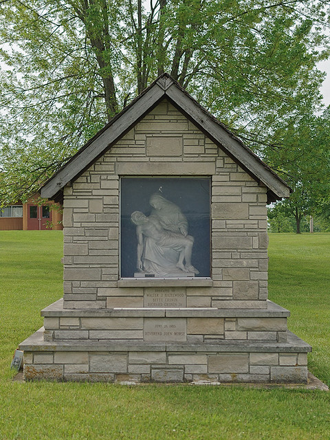 Saint Gerald Roman Catholic Church, in Gerald, Missouri, USA - outside shrine