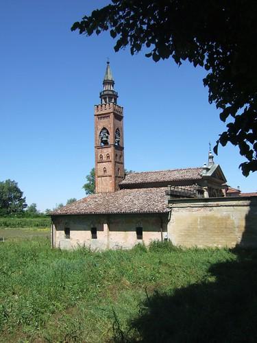 Church near Antica Corte Pallavincina