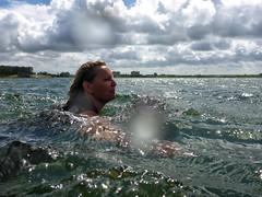 2013 06 15 Zwemmen naar de Oeverzwaluw