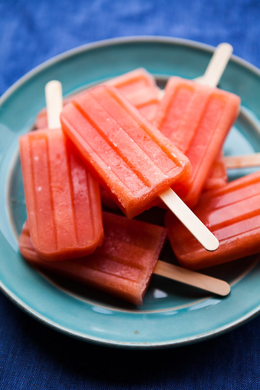 Chili Lime Watermelon Pops // The Year in Food