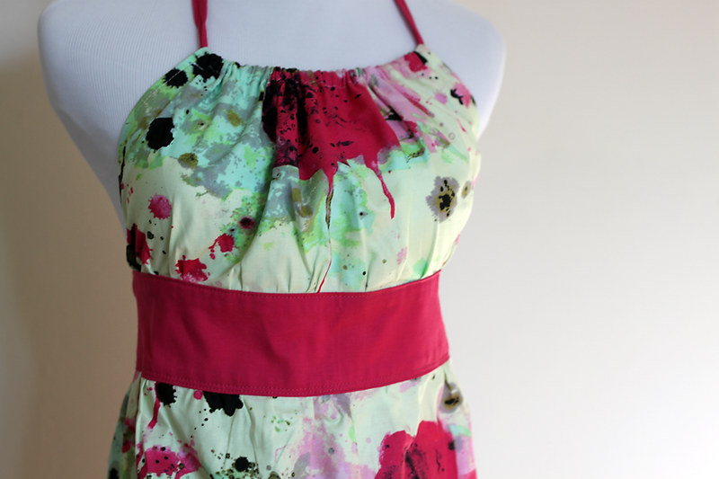 splatter paint apron