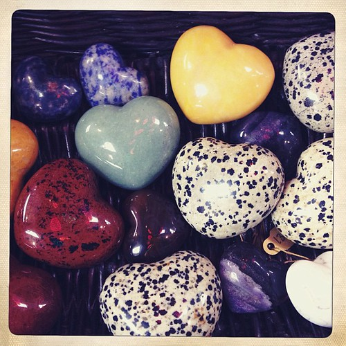 I want a basket full of heart shaped rocks.  Xoxo