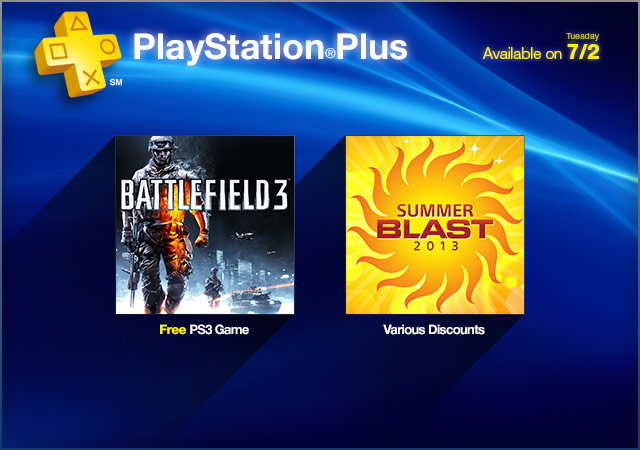 PlayStation Store Update 7-2-2013