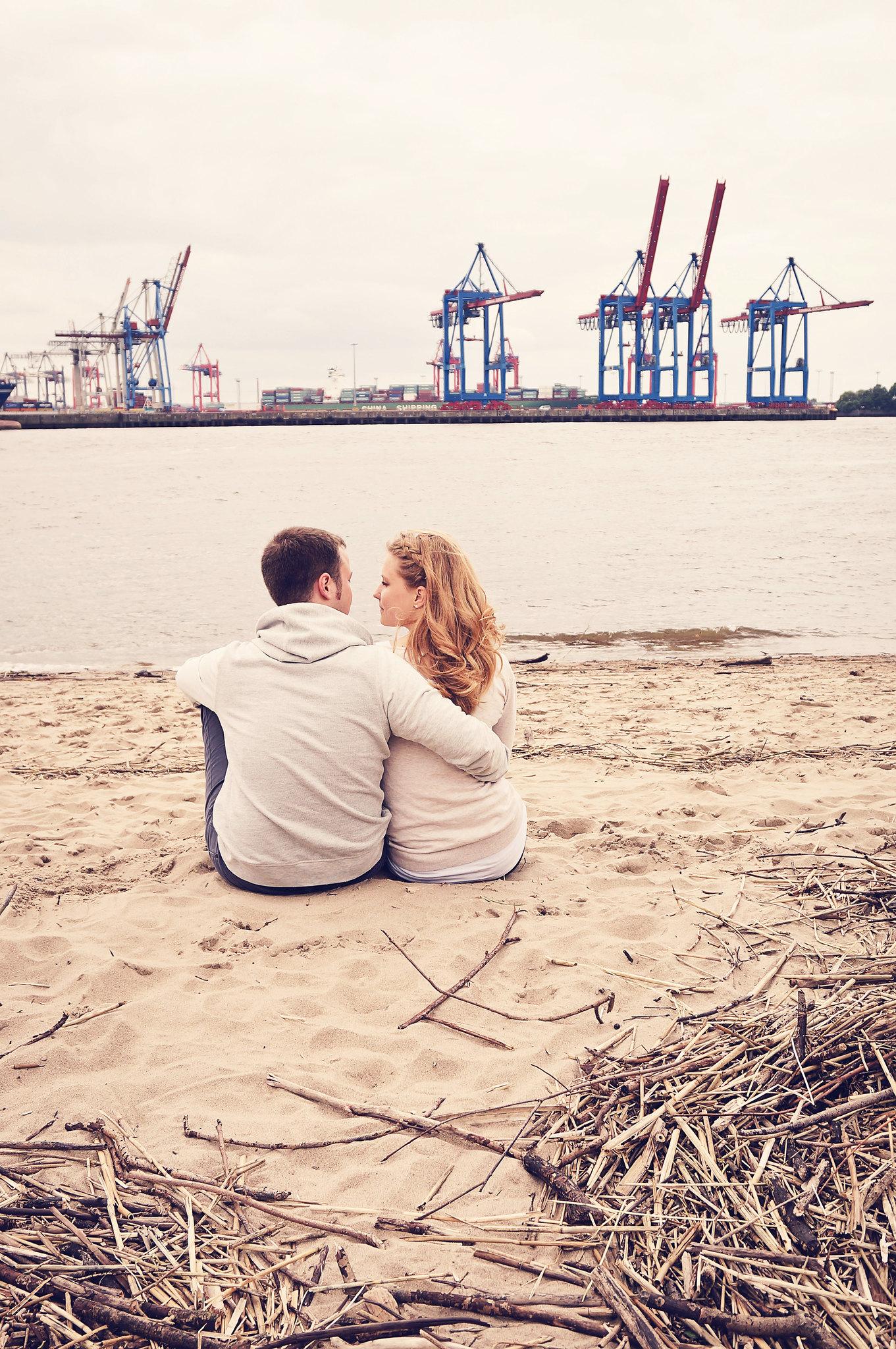 Paarfotografie Speicherstadt Hamburg